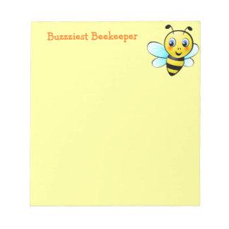 Customizable Bumblebee Notepad