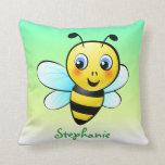 Customizable Bumblebee Pillow