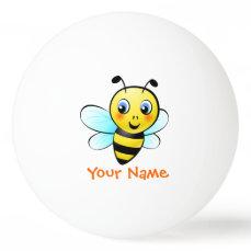 Customizable Bumblebee Ping Pong Ball