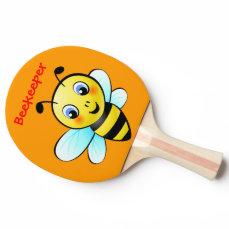 Customizable Bumblebee Ping-Pong Paddle