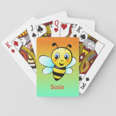 Customizable Bumblebee Playing Cards