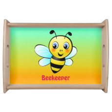 Customizable Bumblebee Serving Tray