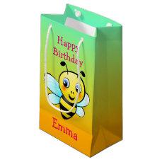 Customizable Bumblebee Small Gift Bag