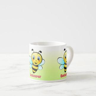 Customizable Bumblebee Espresso Cups