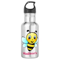 Customizable Bumblebee Stainless Steel Water Bottle