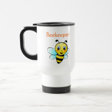 Customizable Bumblebee Travel Mug