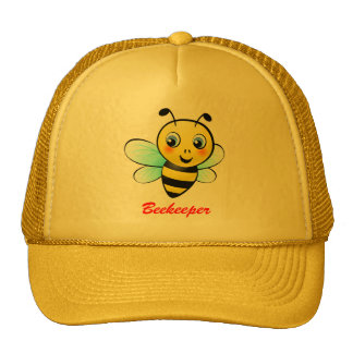 Customizable Bumblebee Trucker Hat