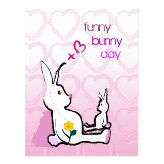Customizable: Bunny mummy Postcard