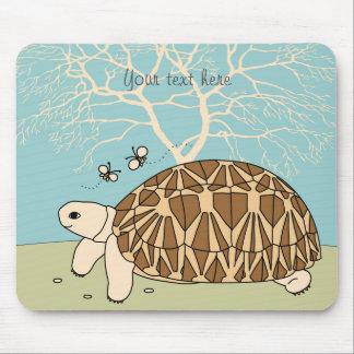 Customizable Burmese Star Tortoise Mouse Pad