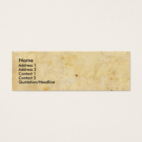 CUSTOMIZABLE BUSINESS CARD DESIGNS