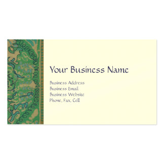 Customizable Business Card - Version Two