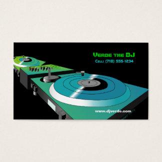 Customizable Business Cards (DJ Theme)
