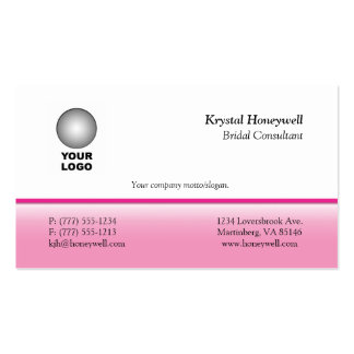 Customizable Business Cards w Logo