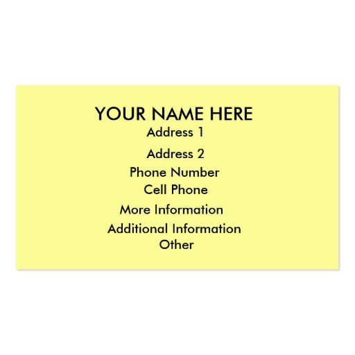 Customizable Business Thank You Card Business Card