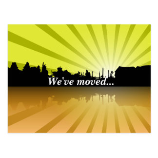 Customizable Business We've Moved Postcard