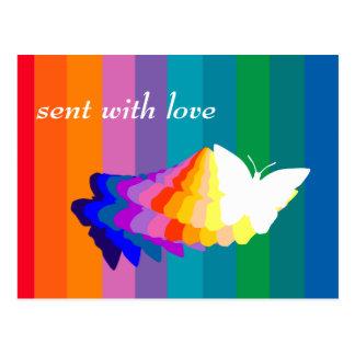 Customizable: Butterflies Postcard