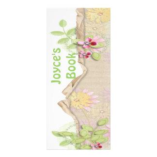 Customizable Butterfly Bookmark Book Mark Rack Card Template