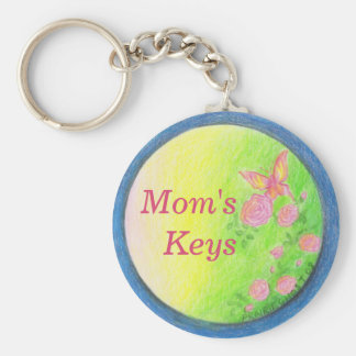 Customizable Butterfly Keychain