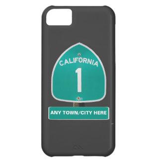 Customizable CA Highway 1 iPhone Case iPhone 5C Case