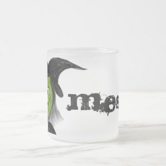 CUSTOMIZABLE Cacking Witch Frosted Mug