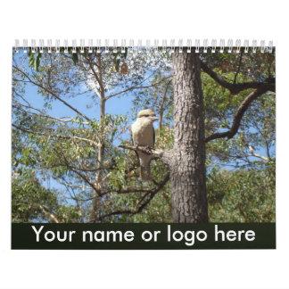 Customizable Calendar - Country Scenes