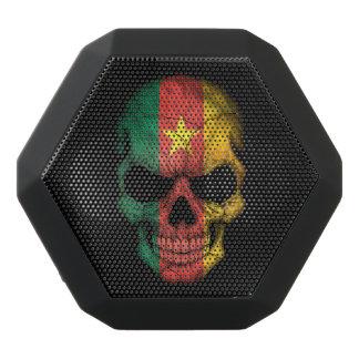 Customizable Cameroon Flag Skull Black Boombot Rex Bluetooth Speaker