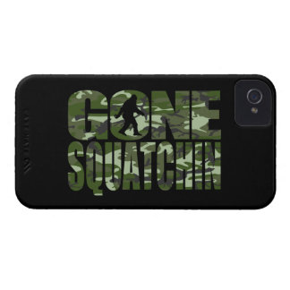 Customizable Camo Gone Squatchin iPhone 4 Cover