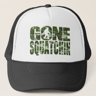 Customizable Camo Gone Squatchin Trucker Hat