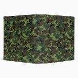 Customizable Camouflage Avery Binders