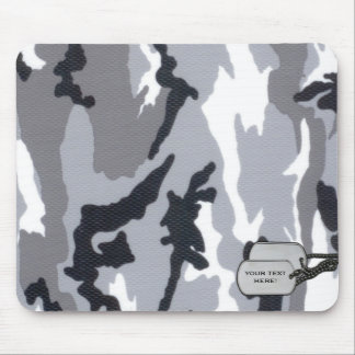 Customizable camouflage mouse pad