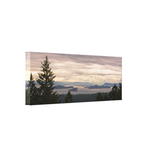 Customizable Canvas Print: San Juan Islands Pano