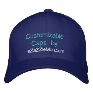 Customizable Caps at eZaZZleMan.com