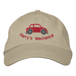 Customizable Car Lover or Mechanics Hat