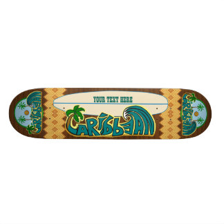 Customizable Caribbean Epics Edition Skateboard Deck
