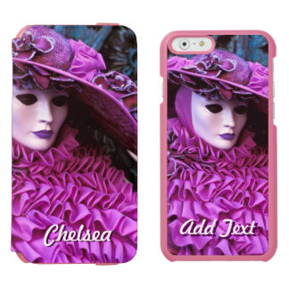 Customizable Carnival Themed Design iPhone 6/6s Wallet Case