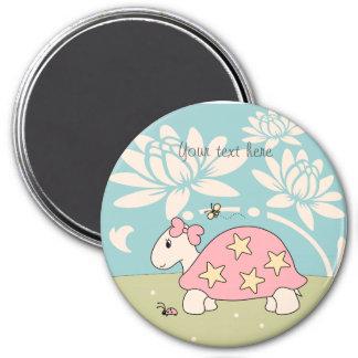 Customizable Cartoon Star Tortoise Magnet