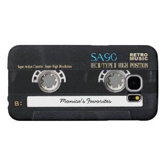 Customizable Cassette Tape Samsung Galaxy S6 Cases