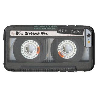 Customizable cassette tape tough iPhone 6 case