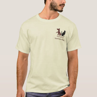 Customizable Cat and Dog Logo T-Shirt