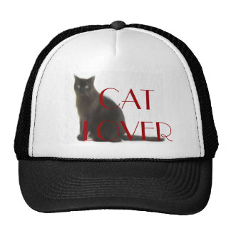 Customizable Cat Lover Gifts & Greetings Trucker Hat