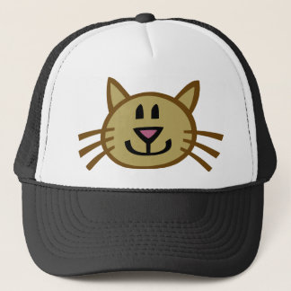 Customizable Cat Trucker Hat