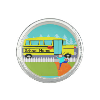 Customizable Catching the School Bus Ring