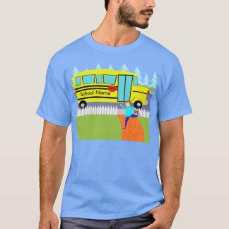 Customizable Catching the School Bus T-Shirt