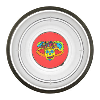 Customizable Catrina Sugar Skull Bowl