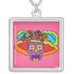 Customizable Catrina Sugar Skull Jewelry