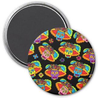 Customizable Catrina Sugar Skulls Magnet