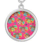 Customizable Catrina Sugar Skulls Necklace