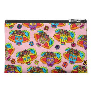 Customizable Catrina Sugar Skulls Travel Accessories Bag