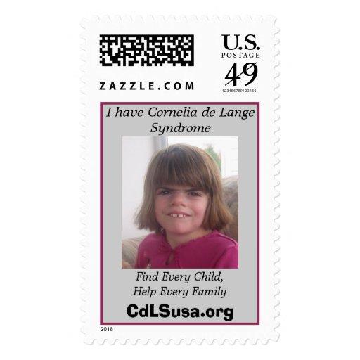 Customizable CdLS Postage Stamp