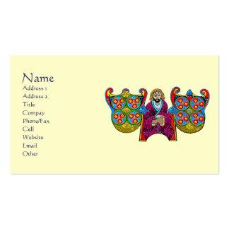 Customizable Celtic Art Business Cards